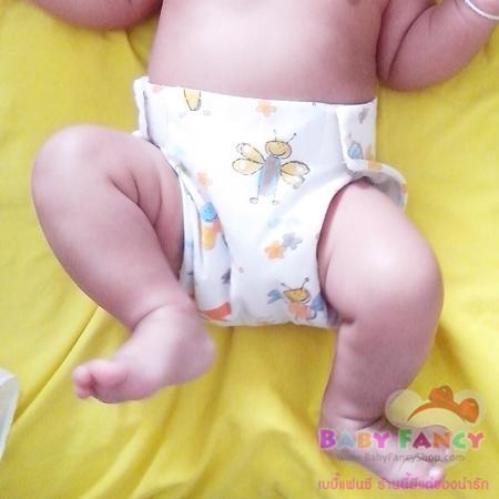 กางเกงผ้าอ้อมผ้าสาลู สำหรับแรกเกิด วัยแบเบาะ